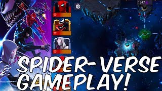 Baixar SPIDER-VERSE GAMEPLAY! STARK SPIDEY, CARNAGE, VENOM + MORE! - Marvel Contest Of Champions