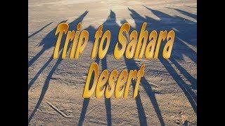 Trip to Sahara Desert - Dunes of Merzouga Morocco