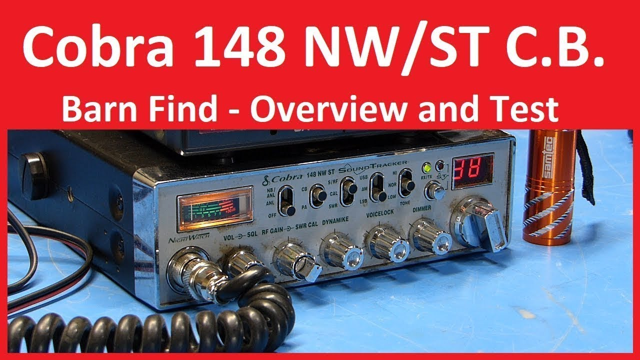 Cruiser Courier Cb Radio Mic Wiring Diagram For Light Switch Co 148 Cobra Repair Revisited Success Live Stream Youtube Rh Com Diagrams Plug