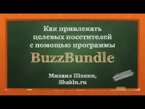 видео: Видеообзор программы buzzbundle