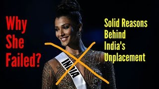 Top 5 Reasons Behind India's Unplacement At Miss Universe 2018