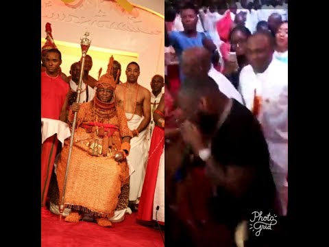 DAVIDO perform and dance with the chief of BENIN kingdom as OBA OF BENIN CELEBRATE ONE YEAR ANNIVERS