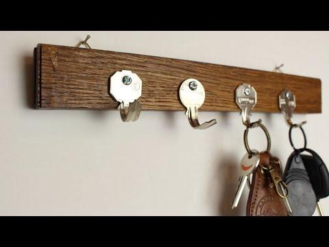 Key Holder Using Old Keys