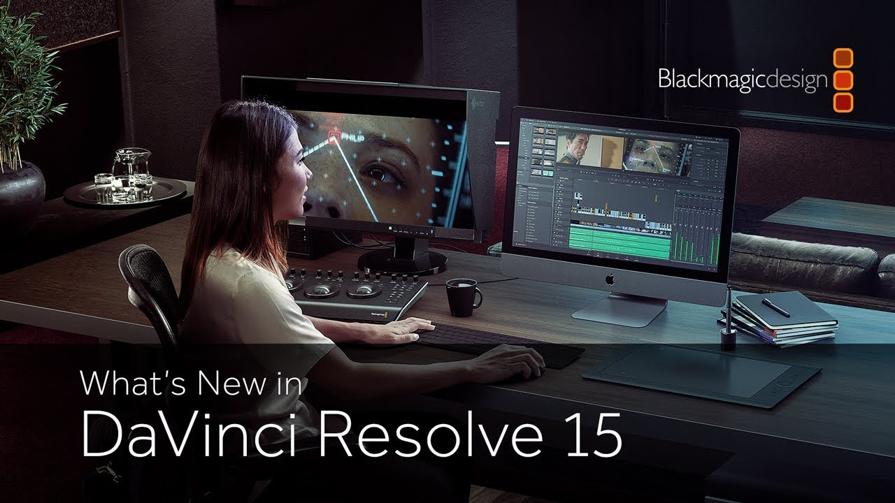 Blackmagic Design Rolls Out Full Shipping Version of DaVinici Resolve 15