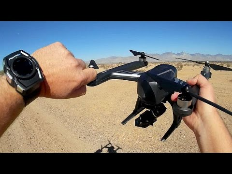 Flypro XEagle Watch Controlled Follow Me Drone Flight Test Review