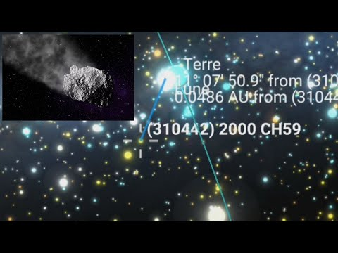 This 600-meter asteroid will pass near Earth (Today)