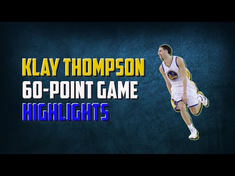 Klay Thompson 60 point game highlights - 12.05.16
