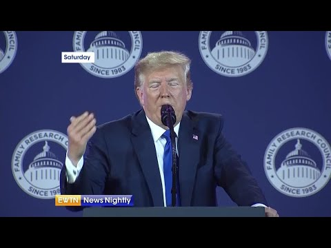President Trump gives aid to Christians after pulling troops from northern Syria - EWTN News Nightly