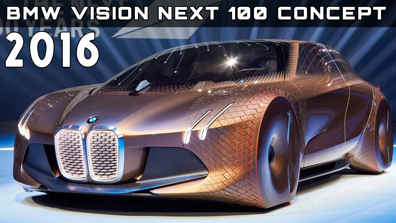 2016 Bmw Vision Next 100 Concept Review Rendered Price Specs Release Date You