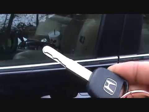 Honda Door Key not working hack/fix simple and easy