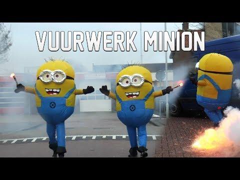 MINIONS STEKEN CAT 1 VUURWERK AF !!!