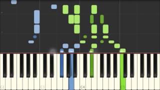 Erster Verlust - Robert Schumann [Piano Tutorial] (Synthesia)