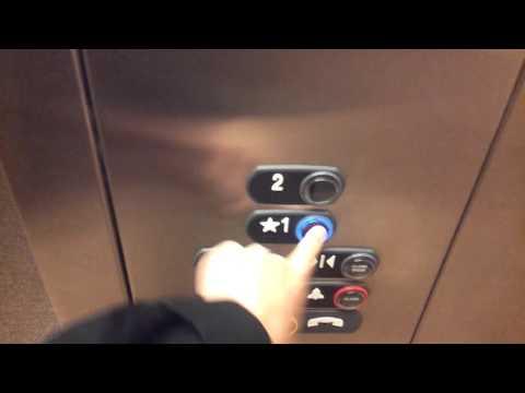 ThyssenKrupp Signa4 Hydraulic Elevator At Fisher Of Men Lutheran Church In Sugar Land, TX.