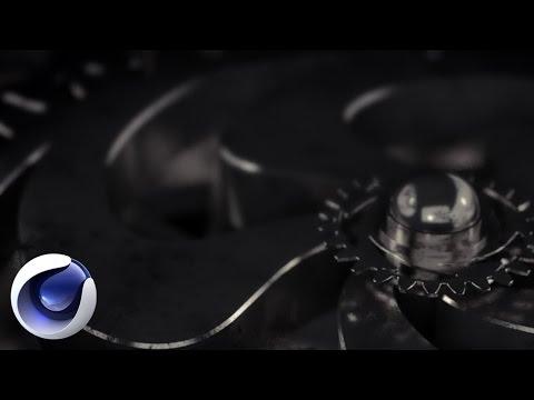 3D шестеренки в Cinema 4D