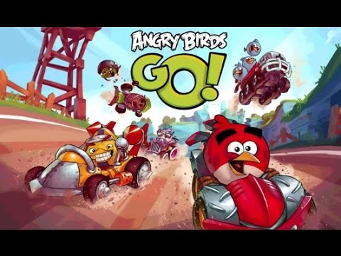 Angry Birds Go! (Злые Птицы на машинках) - Краш тест