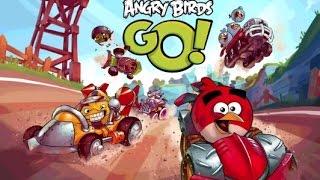 Angry Birds Go! (Злые Птицы на машинках) - Краш тест(Добро пожаловать на трассы скоростного спуска Свинского острова! Почувствуйте кайф гонки вместе с птицами..., 2015-02-24T21:46:21.000Z)