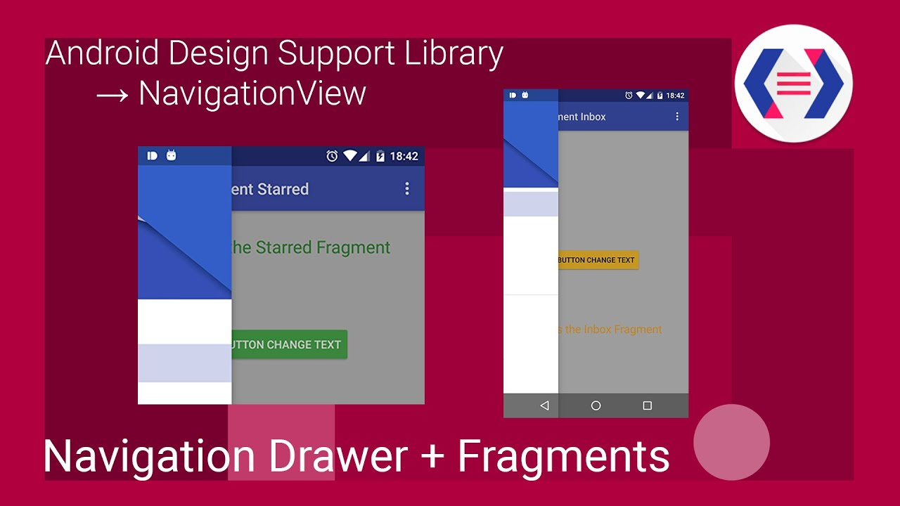 Navigation Drawer con Fragments - Android Design Support Library