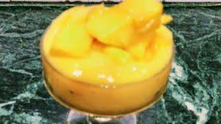 MANGO DELIGHT/mango dessert in 1 minute/mango recipe/ मैंगो डिलाइट रेसिपी