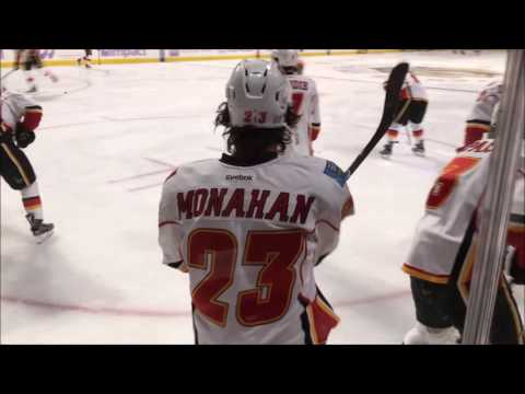 Calgary Flames Warm ups (10.24.16) [60 FPS]
