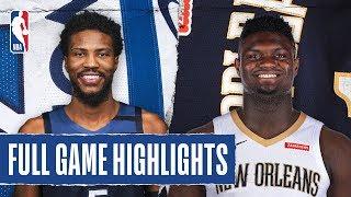 Gambar cover TIMBERWOLVES at PELICANS | FULL GAME HIGHLIGHTS | March 3, 2020