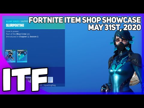 Fortnite Item Shop *NEW* SLURP SKINS! [May 31st, 2020] (Fortnite Battle Royale)