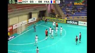 ハンドボール 世界ジュニア 準決勝 EGY vs FRA 1st