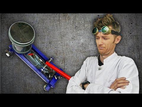 Доктор Дью VS пластиковый домкрат