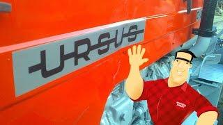 Ursus C-355 renowacja remont Ursusa (C-360, malowanie, instalacja elektryczna, przewody)