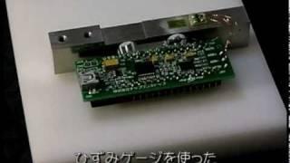 今すぐ使える!パソコン計測USBマイコン基板~ひずみゲージで重さを測定~