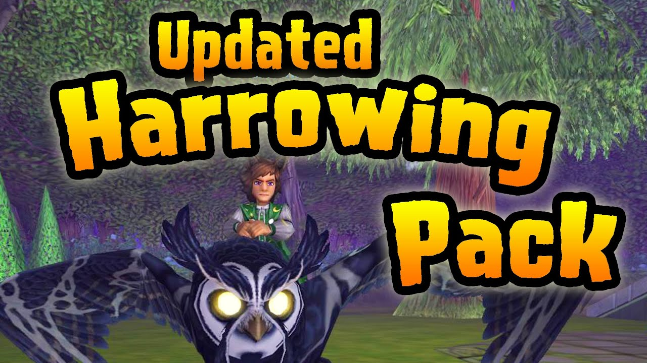 Wizard101: Opening the New Updated Harrowing Pack!