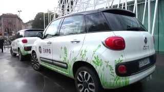Fiat: Fiat 500L e il Green Tour, da Milano a Rimini alla scoperta del biogas.