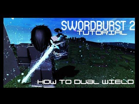 Swordburst 2| How to dual wield! (Have 2 swords) - Most