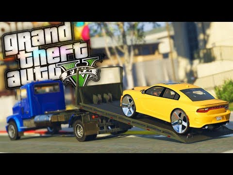 Car Dealership Deliveries! - GTA 5 Real Hood Life - Day 64