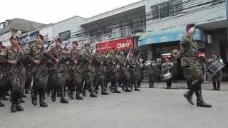 Juramento a la Bandera Regimiento GRANADEROS Quillota 2013