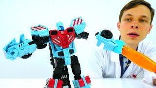 #Трансформеры роботы: Собираем Хот Спота! #ИгрыДляМальчиков Автоботы Transformers