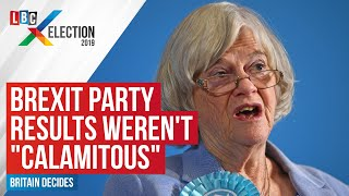 "Ann Widecombe insists Brexit Party results weren't ""calamitous"""