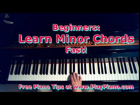 Beginners: Learn Minor Chords Fast!