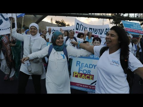 Israel: Women march to Jerusalem to ask for peace