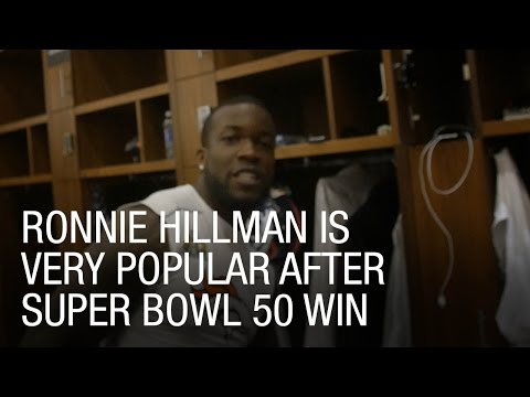 Ronnie Hillman is Bombarded with Text Messages After Super Bowl 50 Win