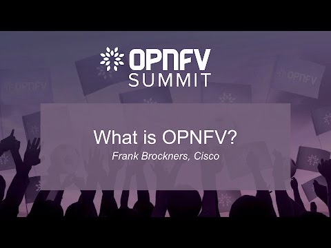 Orientation: What is OPNFV