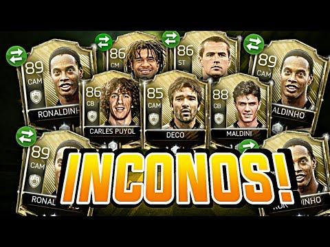 ¡¡LA MANERA MAS FACIL DE CONSEGUIR ICONOS!! | CONSEJOS Y TIPS ICONS | FIFA 18 MOBILE