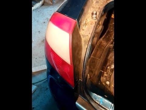 Audi A4 B6 Wymiana Lampy Tył żarówek Rear Light Remove Youtube