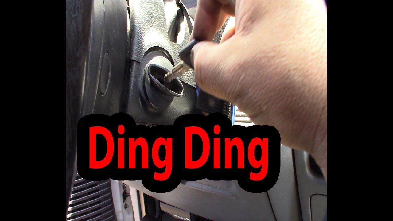 B1352 Ignition Key In Circuit Failure Ford F250 Chime Repair Bell Fix Code Youtube