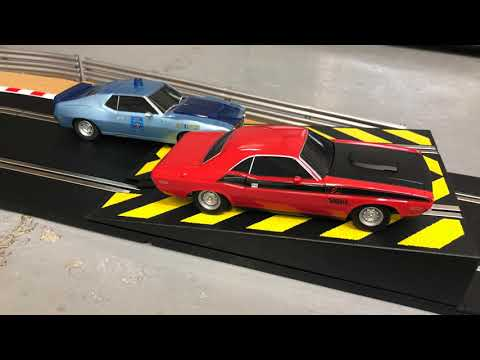 Scalextric American Police Chase Set