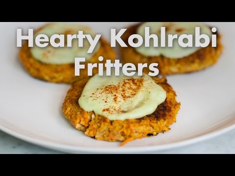 hearty-sweet-potato-kohlrabi-fritters-recipe-(easy-vegan-comfort-food)