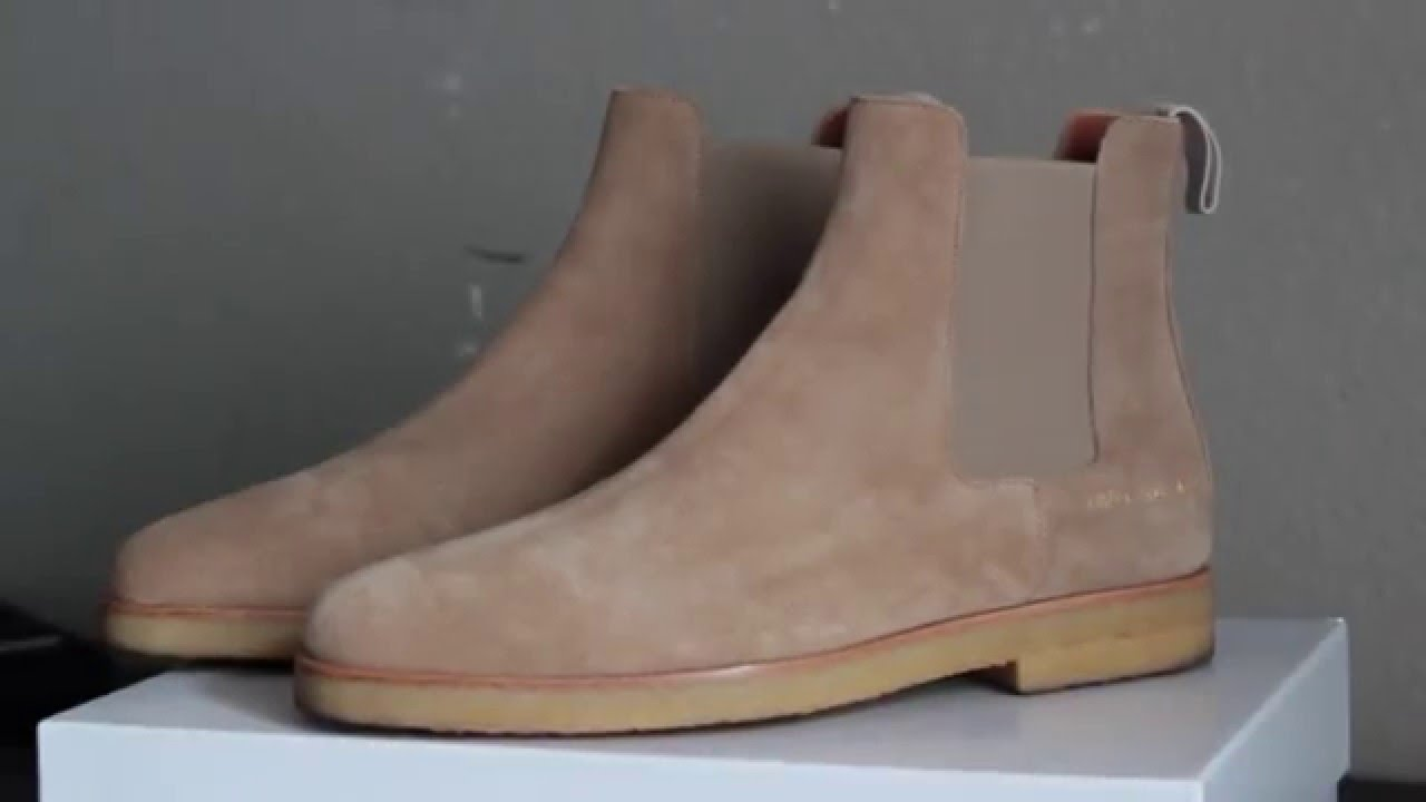 46cbb50b4cc Common Projects Chelsea Boot Review
