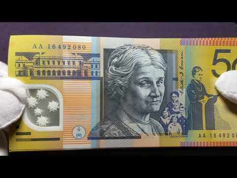 Australian Bank Notes - New & Old $50 AA16 LOOK FOR THESE