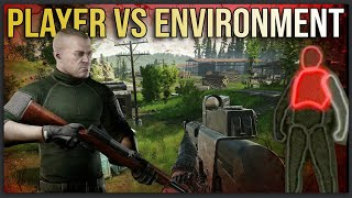 PLAYER VS ENVIRONMENT (I Can't Believe We Survived this Tarkov Raid) [Karmakut]