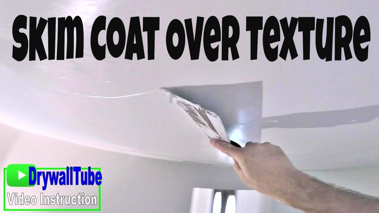 How To Mix Skim Coat Mud