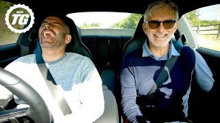BONUS FOOTAGE: Damon Hill and Chris Harris in a 911 | Top Gear: Series 28